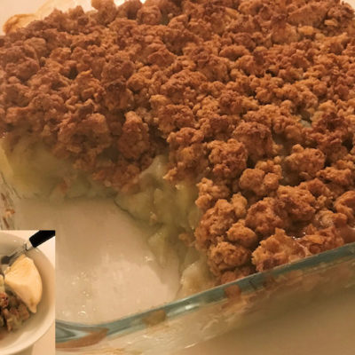 STGTBT Recipe Challenge: Apple Crumble