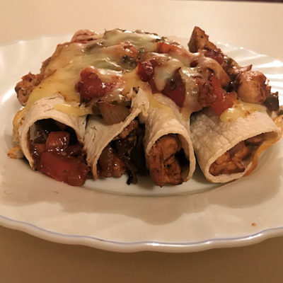STGTBT Recipe Challenge: Chicken Enchiladas